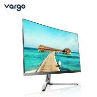 vargo/瓦戈24英寸i3商务办公游戏电脑超薄宽屏曲面一体机 i3+4G+256G